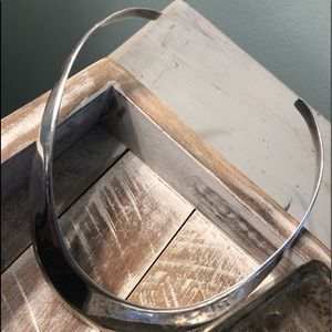 Jewelry - Sterling cuff choker